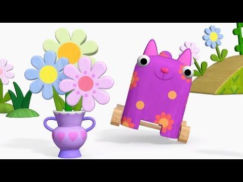 Деревяшки - Магазин - развивающие мультфильмы для самых маленьких 0-4 HD
