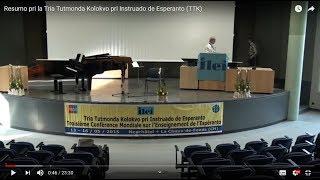 Tria Tutmonda Kolokvo pri Instruado de Esperanto