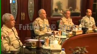 مصر ودعت شهداءها والسيسي: نخوض حربا مع أقوى تنظيم سري