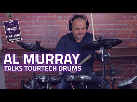 Al Murray Talks TourTech Electronic Drums