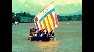 """Balangay Boat """"Diwata ng Lahi""""  Arrives in Butuan City"""
