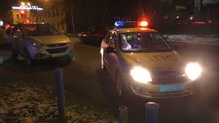 Пьяная женщина на Хендэ, ул. Орловская. Место происшествия 09.11.2017