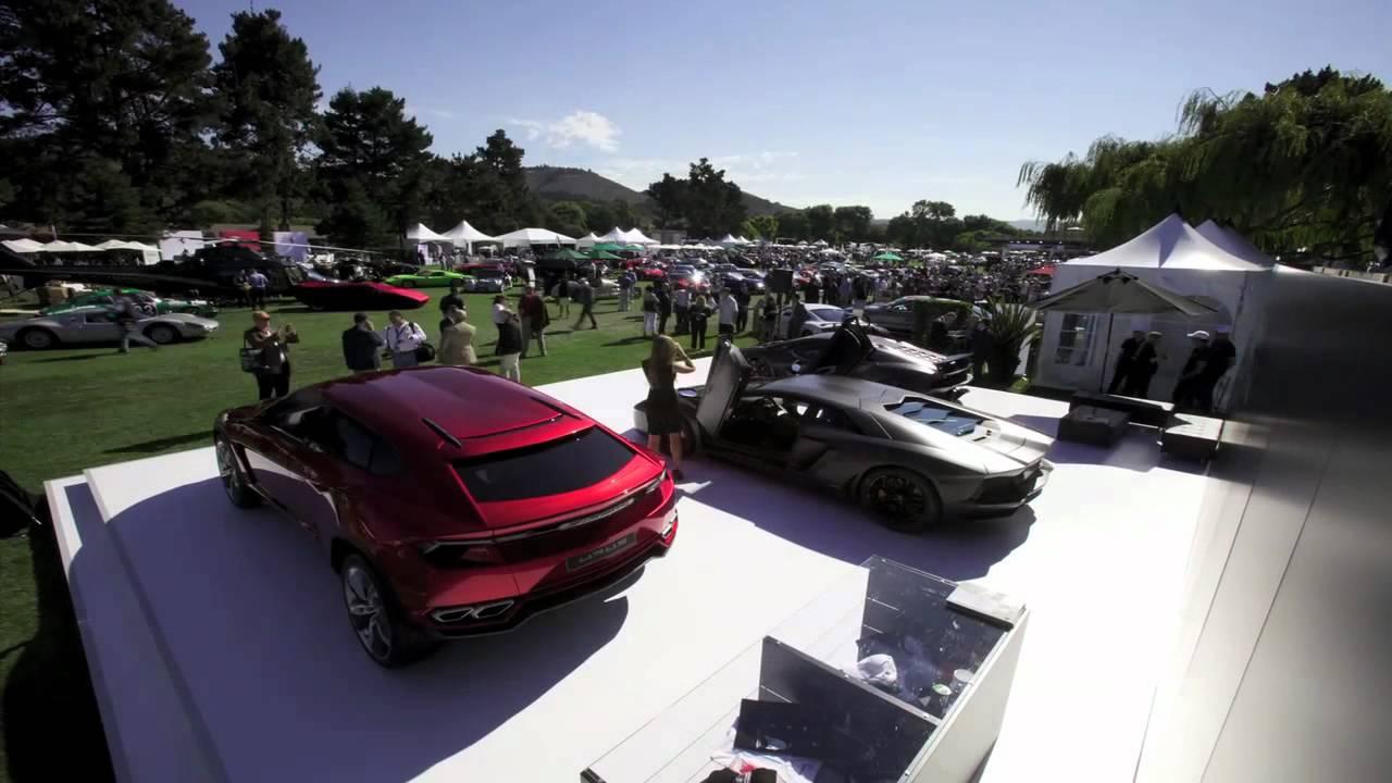 Lamborghini Announces 50th Anniversary Plans at The Quail in Monterey (Time-Lapse)
