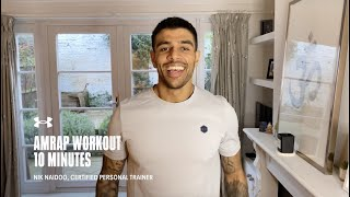 Full Body At-Home Workout with Nik Naidoo | Under Armour Home Workouts