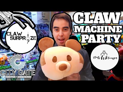 Claw Machine Party at Claw Surprize (Singapore)