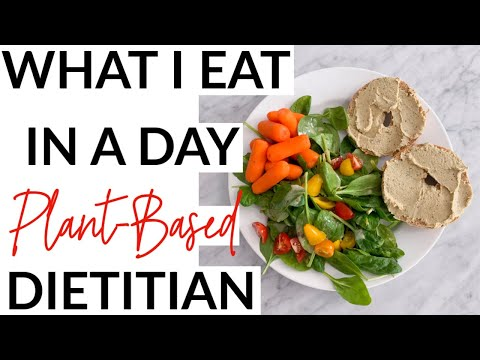 What I Eat in a Day: Plant-Based Dietitian