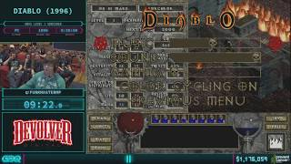 Diablo by Funkmastermp in 34:17 AGDQ 2018