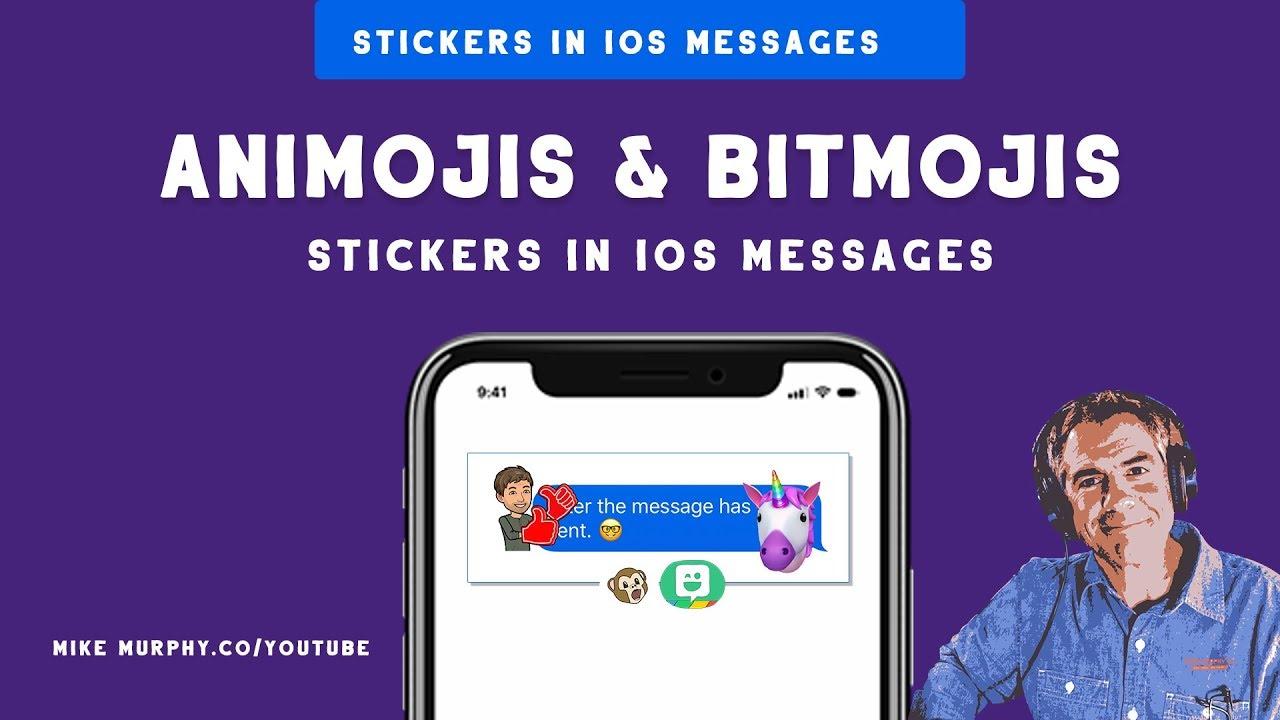 274: How To Add Animoji & Bitmoji Stickers in iOS Messages