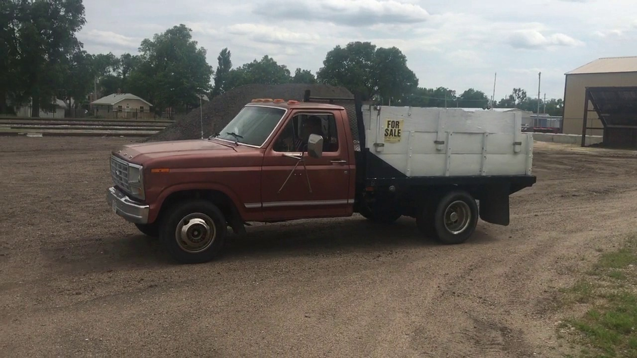 Bigiron com 1980 ford f 350 2wd dump truck 07 12 17 auction