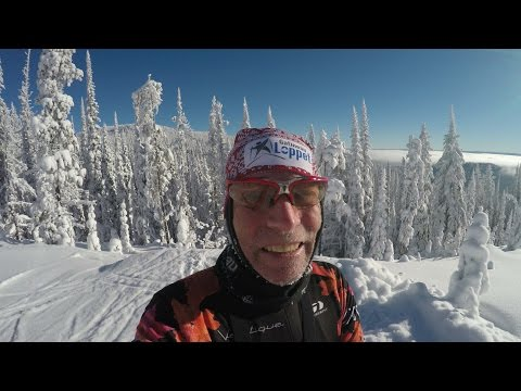 Silverstar Mountain Descent On Cross-Country Skis