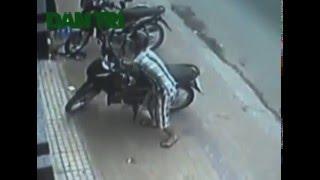 Tận mắt công nghệ siêu phá khoá, trộm xe máy trong 3 giây