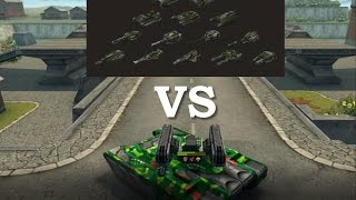 Tanki Online - Striker M3 vs. All Hulls + Turrets M3