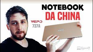 Notebook importado YEPO 737A tela Full HD 13″ Unboxing e primeiras impressões do Barebone