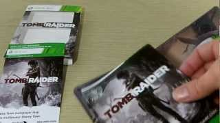 Tomb Raider Steelbook Unboxing