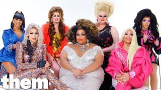 RuPaul's Drag Race Season 11 Queens Play The LGBTQuiz - Part 2   them.