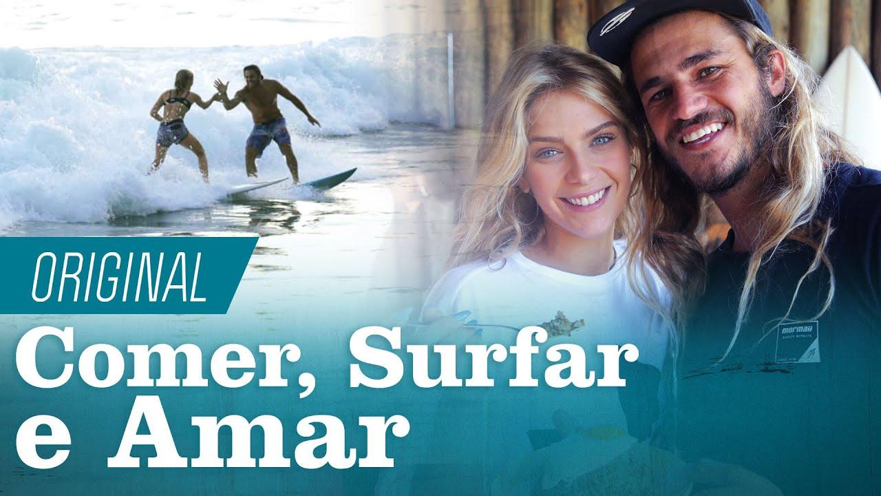 Caio Vaz e Isabella Santoni SURFAM e aprendem a fazer um Nasi Goreng ??️ | Fome de Surfe | Canal OFF