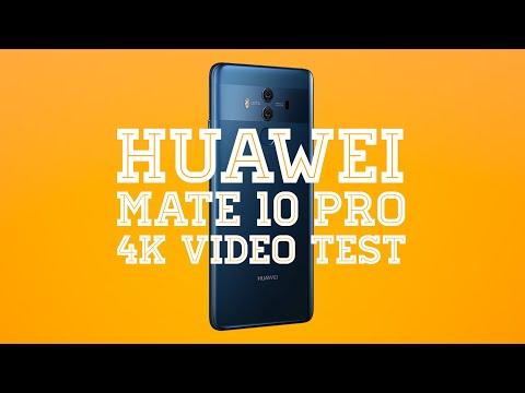 Huawei Mate 10 Pro 4K Video Test