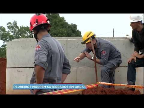Pedreiros morrem soterrados em obra de condomínio em Bauru