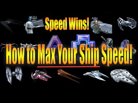 How to Maximize Speed in SHIPS!