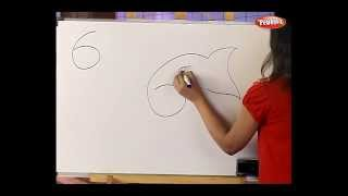 How to draw with numbers - Fun with Numbers - Drawing for kids
