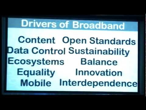Broadband Futures and the Future of ICT: Futurist and Keynote Speaker Gerd Leonhard