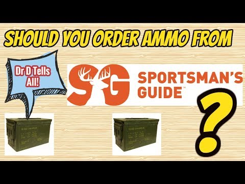 Online Ammo Purchase Review - Sportman's Guide