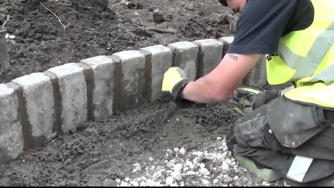 How To Lay Marshalls Cobbletech Driveway In Four Days