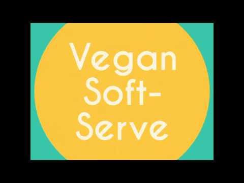 Riverside Deli's Vegan Soft Serve!