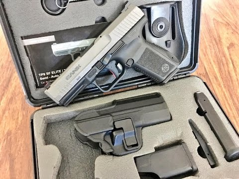 Canik TP9 SF Elite Unboxing and First Impressions