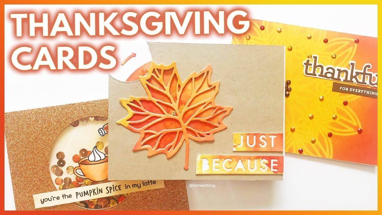 Diy Thanksgiving Cards Wwwtopsimagescom