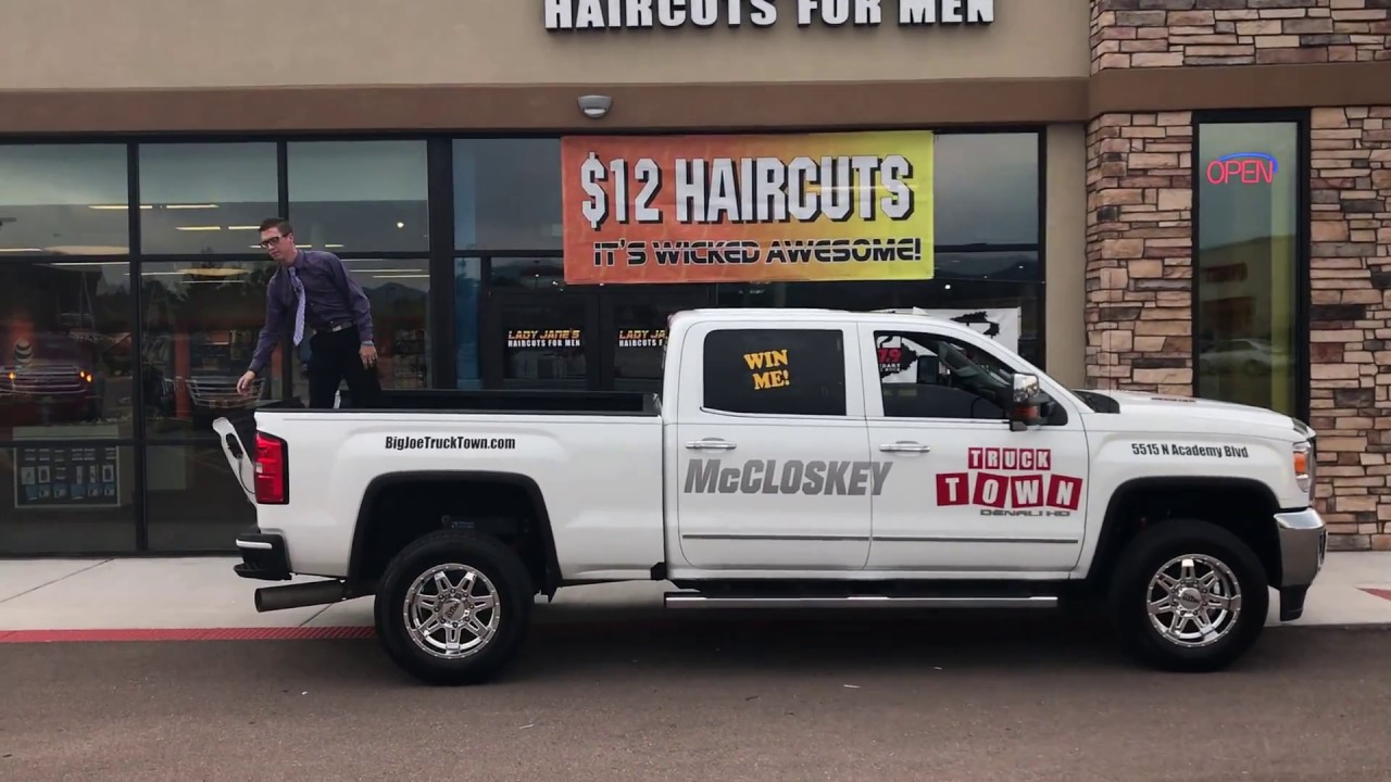 Kilo 94 3 and rxp 103 9 contest truck with mccloskey truck for Mccloskey motors truck town