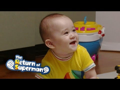 Bentley Begins to Groove!!!!! [The Return of Superman Ep 247]