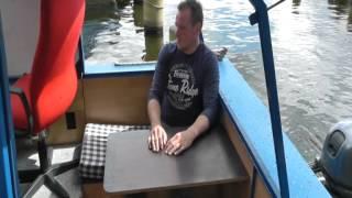 Kajütboot Eigenbau