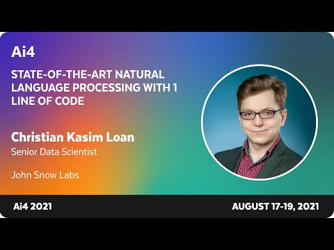 State-of-the-Art Natural Language Processing With 1 Line of Code