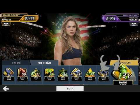 UFC Android - Ronda Rousey International - Showcase Game Play - Fight 5