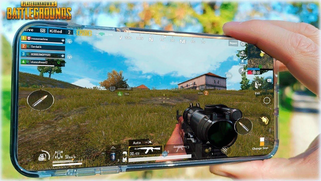 Pubg Ultra Hd Iphone: PROBANDO PUBG MOBILE CON TODO EN ULTRA EN EL IPHONE XS MAX