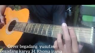 Gitar akustik dangdut begadang. Versi country ( cover Yusuf. M)