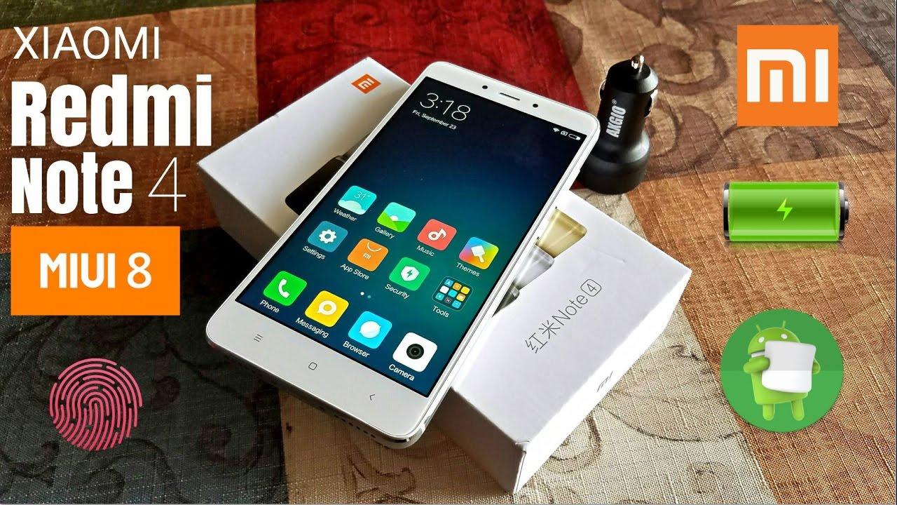 Redmi Note 4 Unboxing: Unboxing & Quick Look!