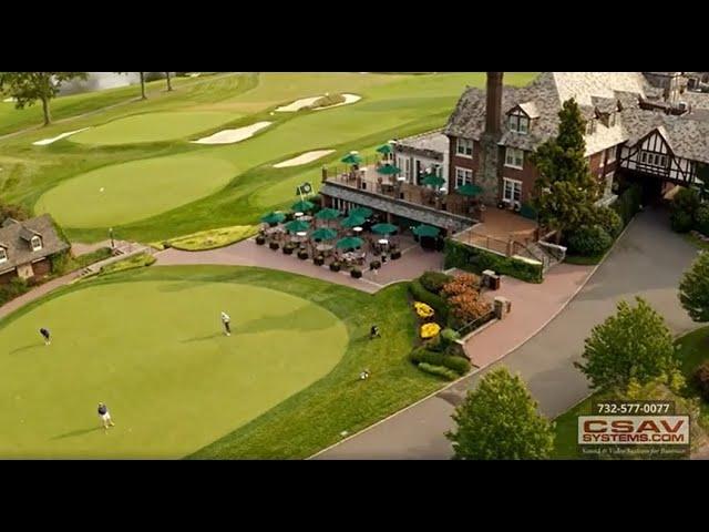 Golf and Country Club A/V Install: Baltusrol Golf Club