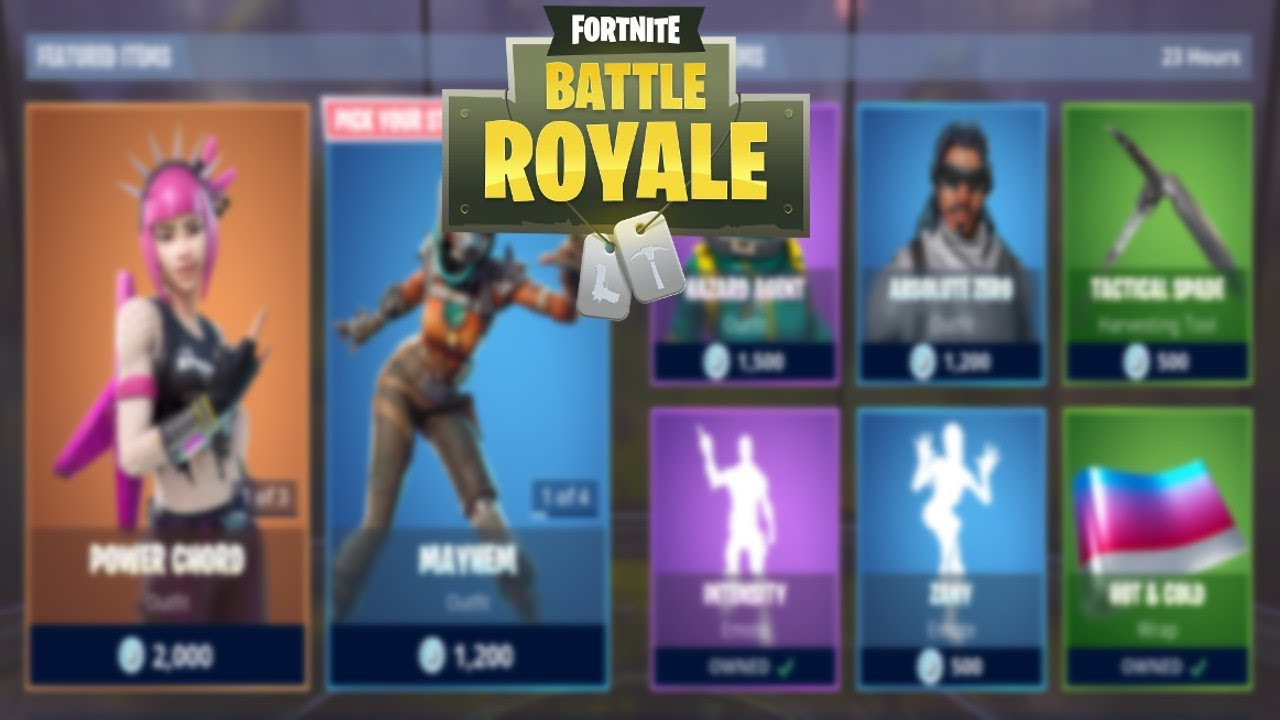 Fortnite Item Shop Today 31 January New Wrap Hot Cold
