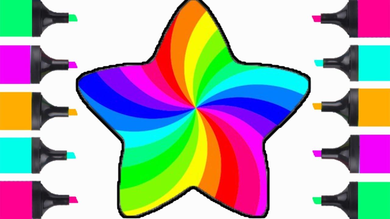 how to draw beutiful rainbow