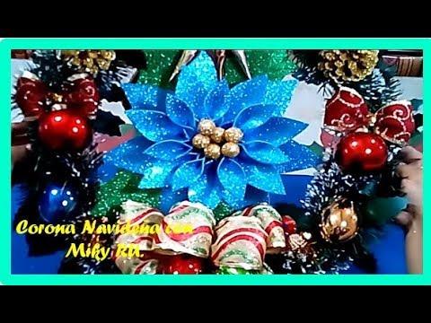 Como Hacer Flor Noche Buena De Fomie Miky Ru Doovi