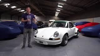 1973 Porsche 911 2.8 RSR FIA Historic GT racecar