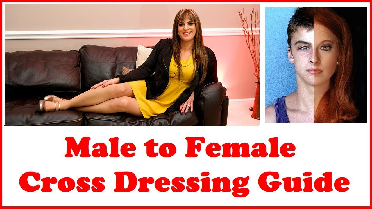 Male cross dresser having sex with women