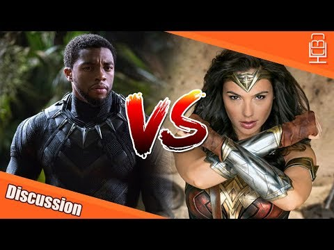 Black Panther Vs Wonder Woman & The Box Office Expectations