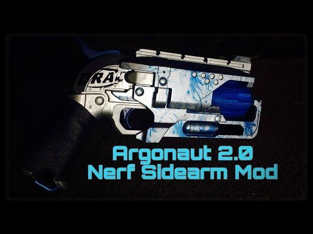 Nerf Mod: Argonaut 2.0 (Dracs Dedicated Sidearm Build)