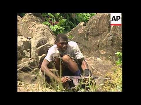LIBERIA: MONROVIA: SPORADIC FIGHTING CONTINUES IN CAPITAL