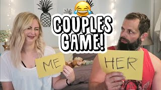 HILARIOUS COUPLES GAME!
