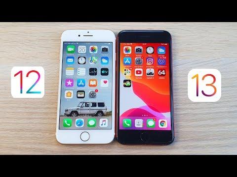 СРАВНЕНИЕ IPhone 7 IOS 12.4.1 И IOS 13.0 - СТАЛО ЛИ БЫСТРЕЕ И СТОИТ ЛИ ОБНОВЛЯТЬСЯ