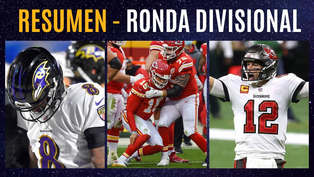 RESUMEN PLAYOFFS NFL - RONDA DIVISIONAL